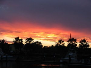 Beautiful Sunset at Los Puertos Marina, San Jose del Cabo