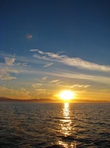 Sunset Heading to Los Muertos