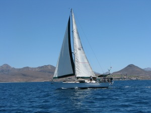 Katie and Mike Aboard Pangaea