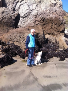 Mom and Molle at the Beach...