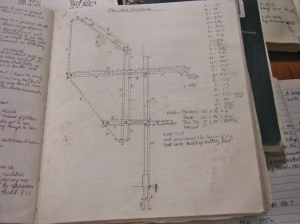 Zapatito's windvane drawing that I used during a rebuild.