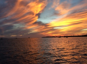 Punta Mita Sunset Courtesy of Nancy Novack, S/V Shindig